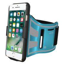 Load image into Gallery viewer, AMZER Jogging Gym Armband Workout Snap On Shellster Case For iPhone 7