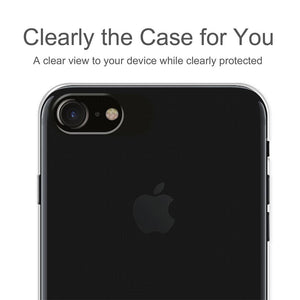 Ultra Thin Premium Shockproof TPU Skin Cover for iPhone 7 - Clear