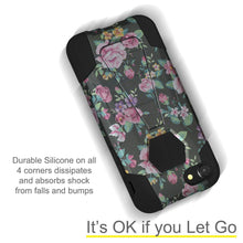 Load image into Gallery viewer, AMZER Dual Layer Designer Hybrid Case with Kickstand for iPhone 7, iPhone SE 2020 - Romantic Colorful Roses Floral