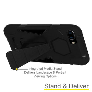 AMZER Dual Layer Shockproof Cover Hybrid KickStand Case for iPhone 7 Plus