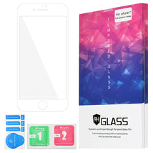 Load image into Gallery viewer, AMZER Kristal Anti Fingerprint Tempered Glass HD Edge2Edge Screen Protector for iPhone 7 -  White