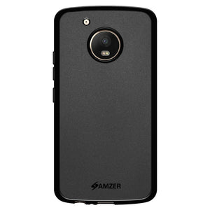 AMZER Pudding Shockproof TPU Skin Case for Motorola Moto G5 Plus - Black