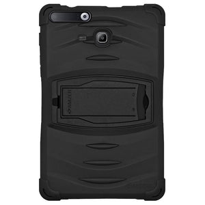 AMZER TUFFEN Shockproof Hybrid Case With Kikstand for Samsung Galaxy Tab iris SM-T116IR - Black