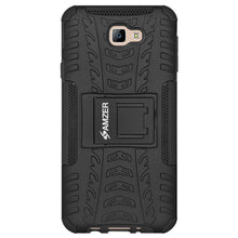 Load image into Gallery viewer, AMZER Shockproof Warrior Hybrid Case for Samsung GALAXY J5 Prime - Black/Black