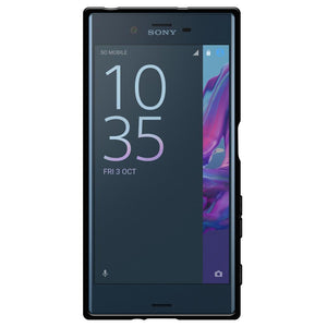 AMZER Pudding TPU Case - Black for Sony Xperia XZ