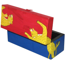 Load image into Gallery viewer, Hand Painted Wooden Keepsake Box
