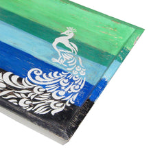 Load image into Gallery viewer, Hand Painted Wooden Tray