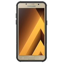 Load image into Gallery viewer, AMZER Shockproof Warrior Hybrid Case for Samsung Galaxy A5 2017 - Black/Black