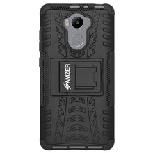 Load image into Gallery viewer, AMZER Warrior Hybrid Case for Xiaomi Redmi 4 Standard Edition - Black/Black