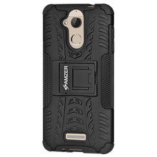 Load image into Gallery viewer, AMZER Hybrid Warrior Dual Layer Case for Coolpad Note 5 - Black/Black