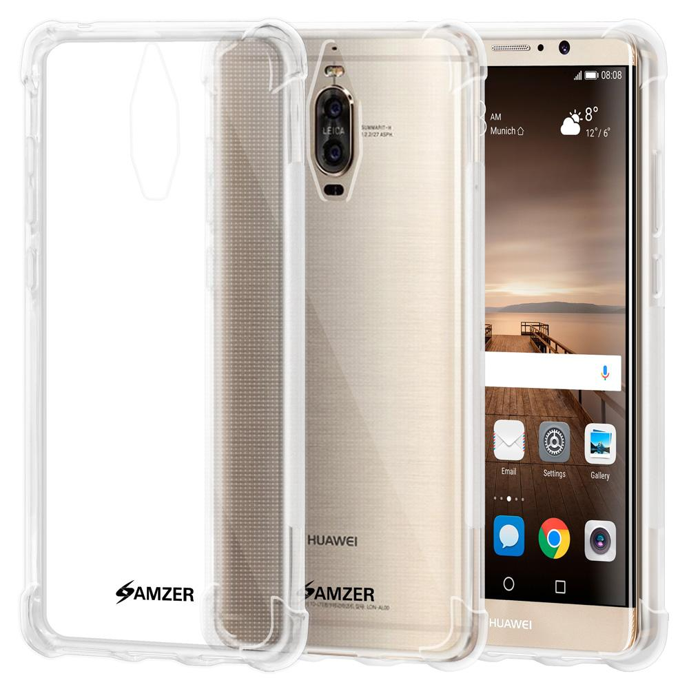 AMZER Pudding TPU X Protection Case - Crystal Clear for Huawei Mate 9 Pro