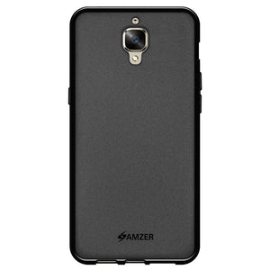 AMZER Shockproof Pudding TPU Skin Case for OnePlus 3 - Black