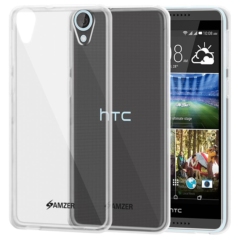 AMZER Pudding TPU Case - Clear for HTC Desire 820