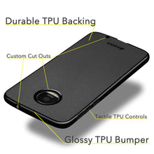Load image into Gallery viewer, AMZER Pudding TPU Case - Black for Motorola Moto Z