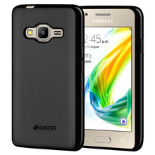 Load image into Gallery viewer, AMZER Pudding TPU Case - Black for Samsung Z2 SM-Z200F