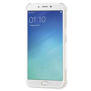 AMZER Pudding TPU X Protection Case - Crystal Clear for Oppo R9 Plus