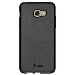 AMZER Pudding TPU Case - Black for Samsung Galaxy A3 2017