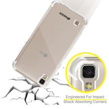 Load image into Gallery viewer, AMZER Pudding TPU X Protection Case - Crystal Clear for LG X Power