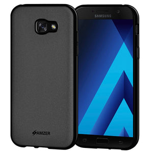 AMZER Pudding TPU Case - Black for Samsung Galaxy A7 2017