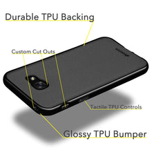 Load image into Gallery viewer, AMZER Pudding TPU Case - Black for Samsung Galaxy A7 2017
