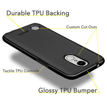 Load image into Gallery viewer, AMZER Pudding TPU Case - Black for LG Harmony M257