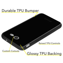 Load image into Gallery viewer, AMZER Soft Gel Pudding TPU Case - Black for Samsung Galaxy Amp Prime 2 SM-J120A
