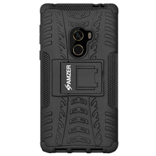 Load image into Gallery viewer, AMZER Shockproof Warrior Hybrid Case for Xiaomi Mi Mix - Black/Black
