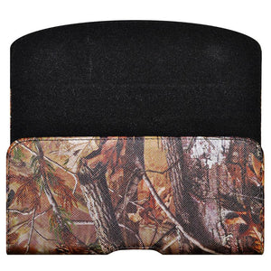 Horizontal PU Leather Camo Pouch Case for Otterbox Defender for iPhone 6