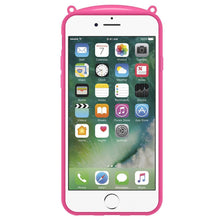 Load image into Gallery viewer, AMZER TPU Case With Rabbit Ears - Pink for iPhone 7