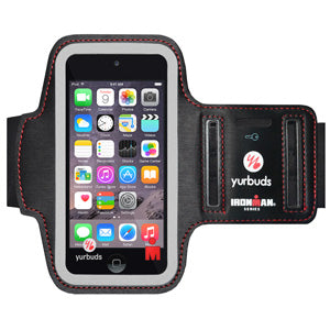 Yurbuds® IronMan Series Sport Armband for iPod Touch 5th Gen - Black - GB