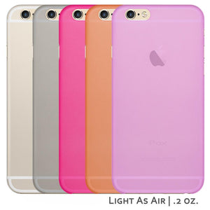 5 Pack Ultra Thin Transparent Case for iPhone 6 / 6S for iPhone 6