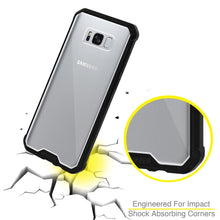 Load image into Gallery viewer, SlimGrip Shockproof Hybrid Case with Black Trim for Samsung Galaxy S8