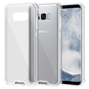 SlimGrip Shockproof Hybrid Case with Clear Trim for Samsung Galaxy S8