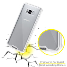 Load image into Gallery viewer, SlimGrip Shockproof Hybrid Case with Clear Trim for Samsung Galaxy S8