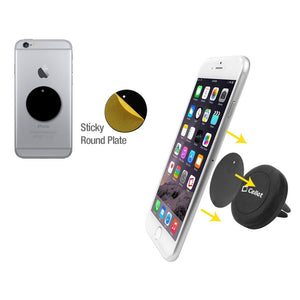 Cellet Extra Strength Magnetic (With Quick Snap Technology) Car Air Vent Smartphone Holder
