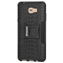 Load image into Gallery viewer, AMZER Shockproof Warrior Hybrid Case for Samsung Galaxy C9 Pro - Black/Black