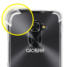 Load image into Gallery viewer, AMZER Shockproof Pudding TPU X Protection Skin Case for Alcatel Idol 4 Pro Clear
