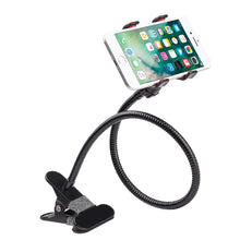 Load image into Gallery viewer, Lazy Bracket Flexible Long Arms Clip Smartphone Holder Mount
