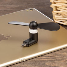 Load image into Gallery viewer, Micro USB Compatible Devices Mini Cooler Fan