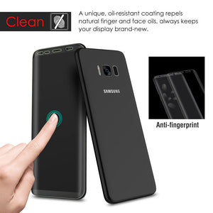 Full Body Edge to Edge Super Clear Screen Protector for Samsung Galaxy S8