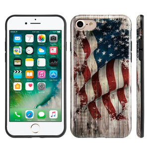 AMZER® Patriotic Vintage Flag Series Case - Faded Glory for iPhone 7, iPhone SE 2020