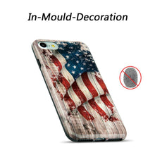 Load image into Gallery viewer, AMZER® Patriotic Vintage Flag Series Case - Faded Glory for iPhone 7, iPhone SE 2020
