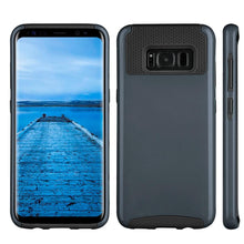 Load image into Gallery viewer, Hybrid Glossimer UV Coating Protective Case - Black for Samsung Galaxy S8 for Samsung Galaxy S8