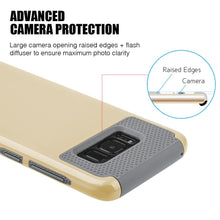 Load image into Gallery viewer, Hybrid Glossimer UV Coating Protective Case - Gold for Samsung Galaxy S8 for Samsung Galaxy S8