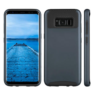 Hybrid Glossimer UV Coating Protective Case - Black for Samsung Galaxy S8 Plus for Samsung Galaxy S8 Plus