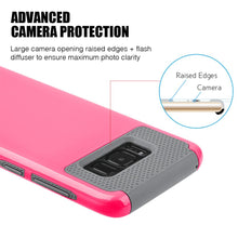 Load image into Gallery viewer, Hybrid Glossimer UV Coating Protective Case - Hot Pink for Samsung Galaxy S8 Plus for Samsung Galaxy S8 Plus