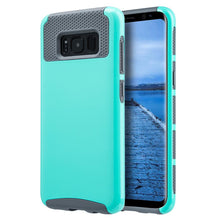 Load image into Gallery viewer, Hybrid Glossimer UV Coating Protective Case - Teal for Samsung Galaxy S8 Plus for Samsung Galaxy S8 Plus