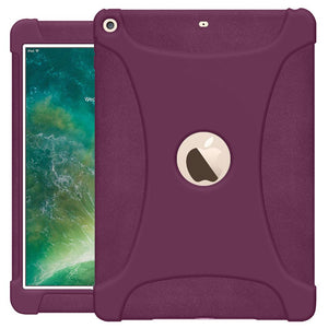 AMZER Shockproof Rugged Silicone Skin Jelly Case for Apple iPad 9.7