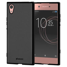 Load image into Gallery viewer, AMZER Pudding TPU Case - Black for Sony Xperia XA1