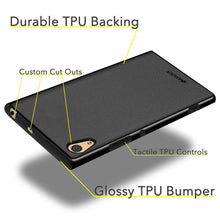Load image into Gallery viewer, AMZER Pudding TPU Case - Black for Sony Xperia XA1 Ultra